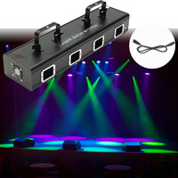 CLAITE Professional 30W Laser Light Show System 110V Stage Lighting Effect RGB Light Lamp For DJ Stage KTV Club Bar Party Pub