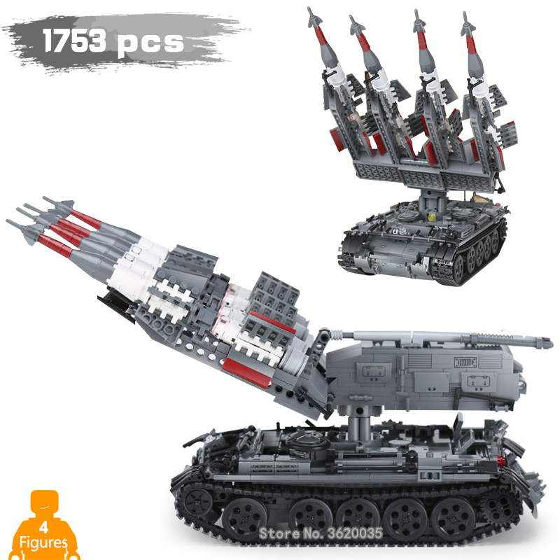1753pcs War ace SA-3 GOA T55 Building Blocks model tank with Legoinglys military ww2 Figures Mini Weapons Toys for children gift цена