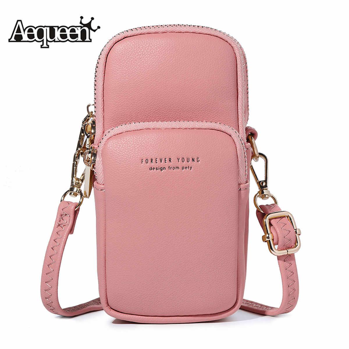 735e1d0fd46c AEQUEEN Feminine Bolsa Mini Crossbody Shoulder Bags For Women Solid Phone Bag  Female Casual Handbag Small