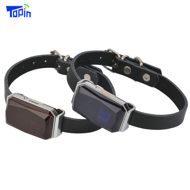 New Arrival IP67 Waterproof Pet Collar GSM AGPS Wifi LBS Mini Light GPS Tracker for Pets Dogs Cats Cattle Sheep Tracking Locator 6