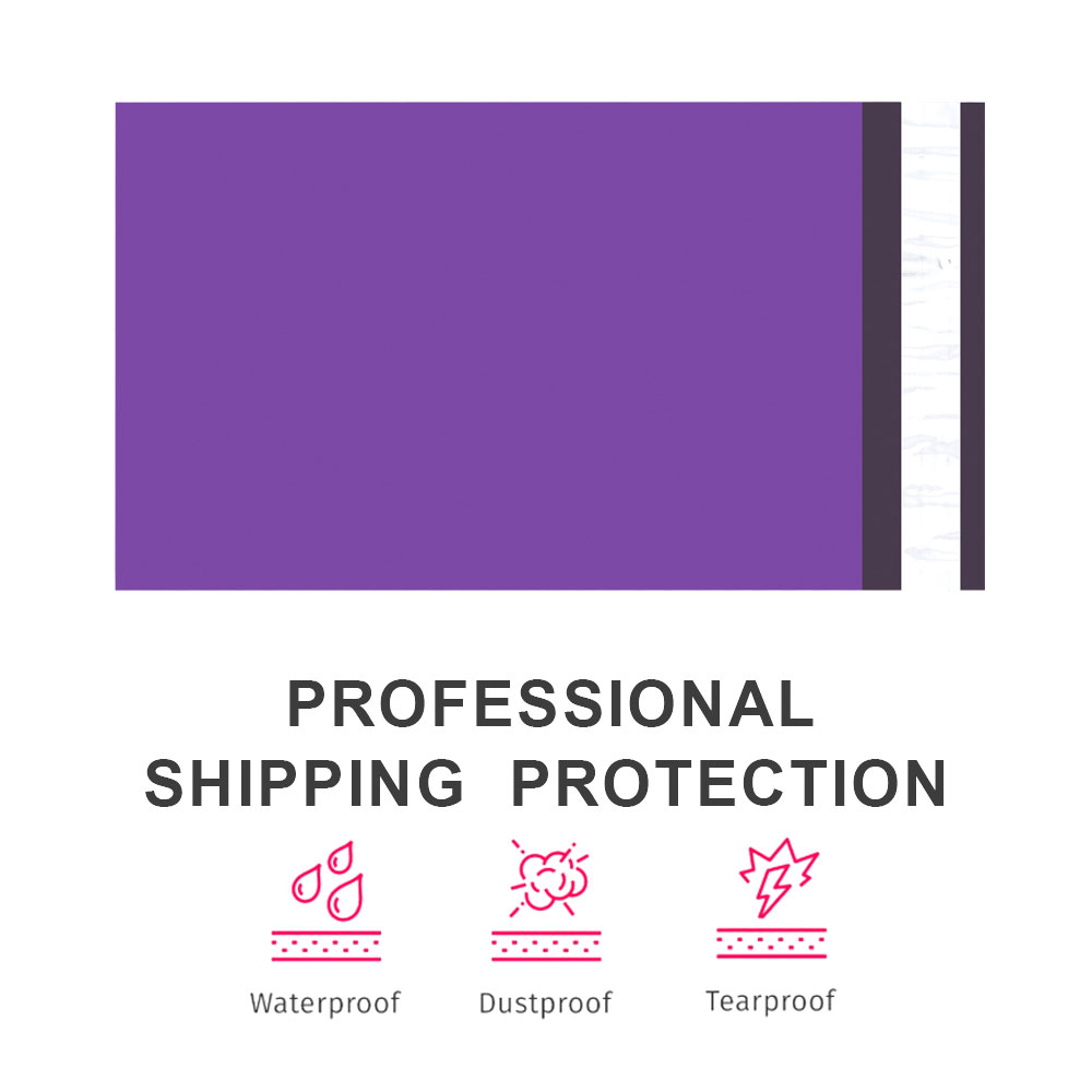 Image 2 - Speedy Mailers 100PCS 6x9inch 150*230mm Colorful Poly Mailer Purple Poly Mailer Self Seal Plastic Shipping Envelope BagsPaper Envelopes   -