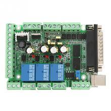 6 Axis CNC MACH3 интерфейсная плата USB адаптер с USB кабель 25-pin параллельный кабель для мотор драйвер с 2 портами(стандарт кабели