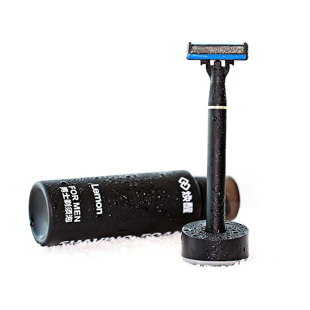 H600 Mi accueil rafraîchir barbe rasoir électrique pour hommes manuel 6 couches rasoir