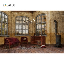 Laeacco Indoor Arch Windows Sunshine Backdrop Custom Photography Backgrounds Photocall Photographic Backdrops For Photo Studio