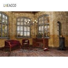 Laeacco Indoor Arch Windows Sunshine Backdrop Custom Photography Backgrounds Photocall Photographic Backdrops For Photo Studio стоимость