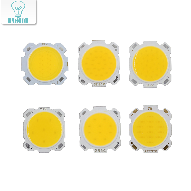 10PCS LED COB Chip 3W 5W 7W 10W 12W 15W COB Lamp Beads Cold / Warm White For  LED Light Bulbs Home Lighting Fixtures