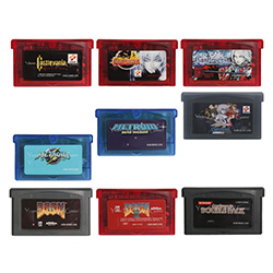 32 Bit Handheld Console Video Game Cartridge Console Card Castlevania Series English Language US Version image