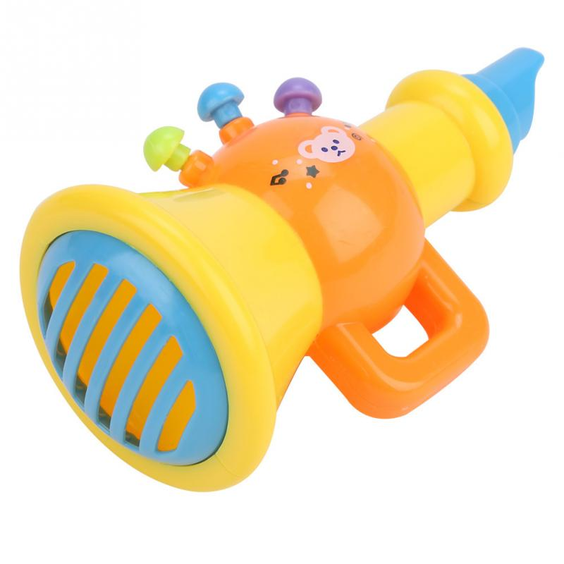 Image 4 - 5Pcs Children Drum Trumpet Toy Music Percussion Instrument Band Kit Early Learning Educational Toy Baby Kids Children Gift Set-in Toy Musical Instrument from Toys & Hobbies