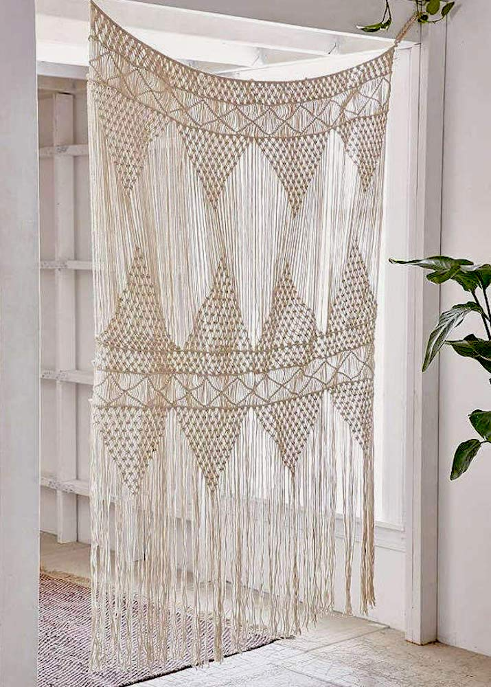 wall tapestry  Macrame Curtain Large Wall Hanging Bohemian Wedding Decor, 50 w x 75 h wall tapestry   bohemian tapestrywall tapestry  Macrame Curtain Large Wall Hanging Bohemian Wedding Decor, 50 w x 75 h wall tapestry   bohemian tapestry