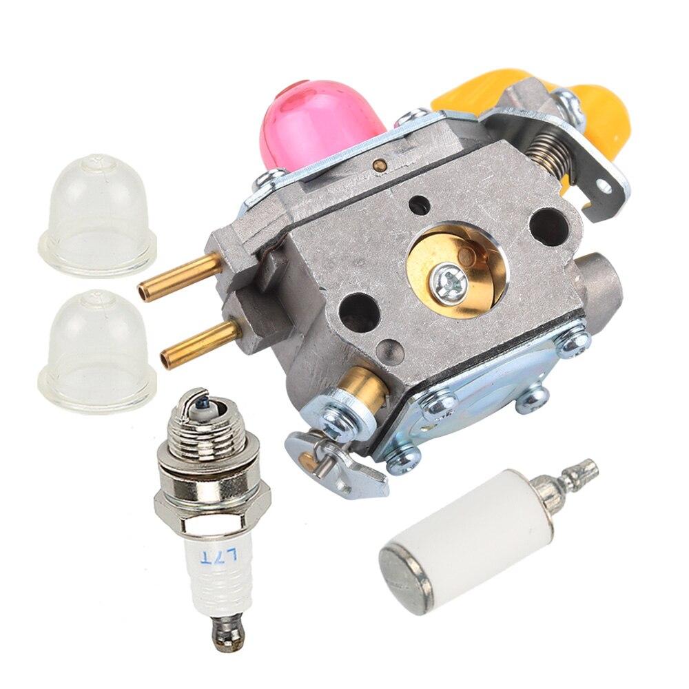 New Carburetor Primer Bulb Sets For Poulan BVM210VS SM210VS 545180811 545146501 Leaf Blower Zama C1U-W45A
