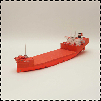 Polish Willift Eagle heavy cargo ship Paper model Ship 1:400 Manual DIY paper work diy simulation remote control ship model kit for tug804 tugboat rescue ship small scale and moped tugboat 1 18
