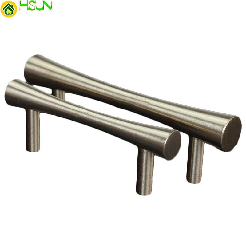 1 pc Brass Handles  Kitchen Drawer Cabinet Door Handle Furniture Knobs Handware Cupboard Straight
