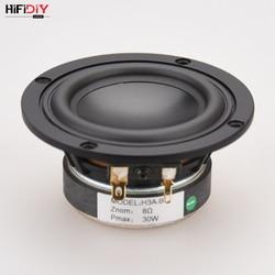 HIFIDIY LIVE hifi 3.6 3.5 cal 93mm pełna częstotliwość głośnik 8OHM 30W wysoki Alto głośnik basowy H3A B w Akcesoria do głośników od Elektronika użytkowa na