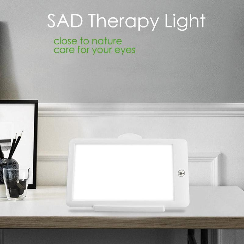 SAD Therapy Lamp 3 Modes Seasonal Affective Disorder Phototherapy 6500K Simulating Natural Daylight US Plug SAD Therapy LightSAD Therapy Lamp 3 Modes Seasonal Affective Disorder Phototherapy 6500K Simulating Natural Daylight US Plug SAD Therapy Light