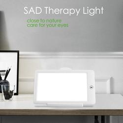 SAD Therapy Lamp 3 Modes Seasonal Affective Disorder Phototherapy 6500K Simulating Natural Daylight US Plug SAD Therapy Light