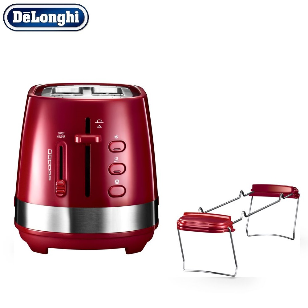 лучшая цена Toasters Delonghi CTLA 2103.R home kitchen appliances cooking toaster fry bread to make toasts