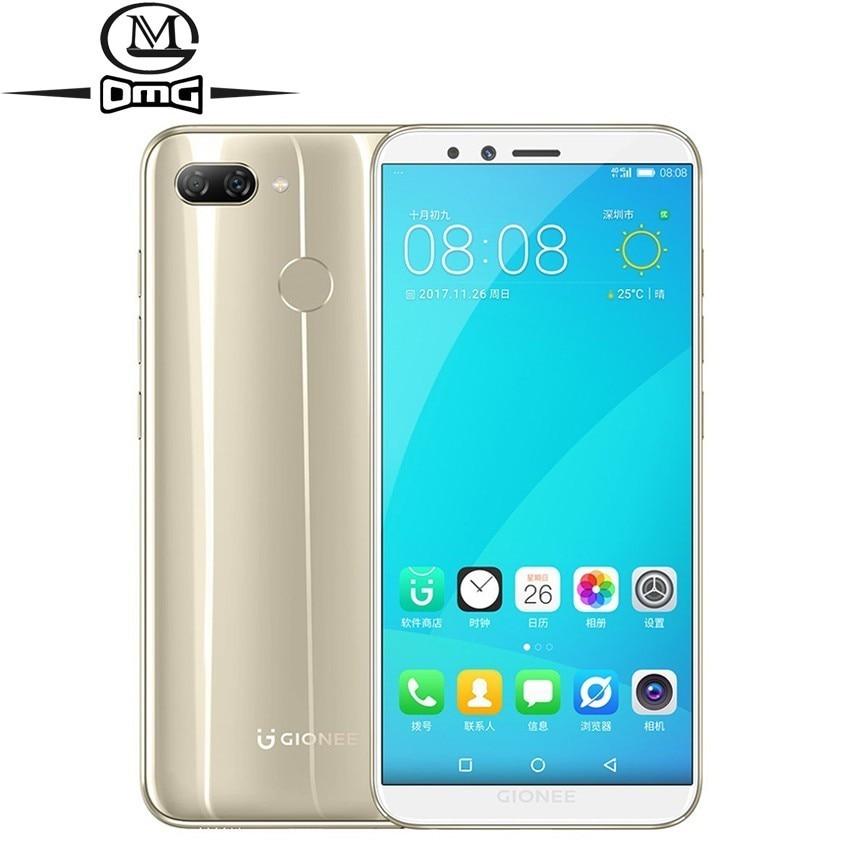 "Gionee S11 Lite Android 7.1 4G Smartphone MSM8937 Snapdragon 430 Octa Core mobile phone 5.7"" 4GB RAM Unlock Fingerprint phones"