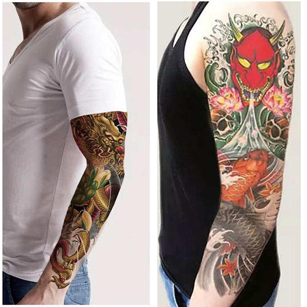 New Teens Guys Men Women Waterproof Geometry As The Picture Shown Tattoo Stickers For Arms