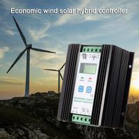 1200W Wind Solar Hybrid Controller 50A 24V Auto 800W Wind Turbine 400W Solar Panel Charge Controller LCD Display Free Shipping