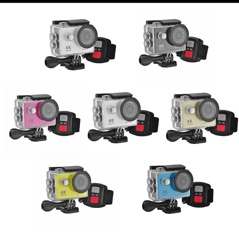 ALLOET 1080 P 2.0 pouces 12MP caméra d'action étanche 4 K WIFI 2.4G sans fil caméra d'enregistrement vidéo de voyage caméra d'action Sport Cam