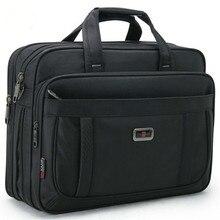 Volasss 2020 klasyczne teczki dla mężczyzn torebki wysokiej jakości wodoodporna tkanina nylonowa kobiety Business Travel 15.6 Cal torby na Laptop