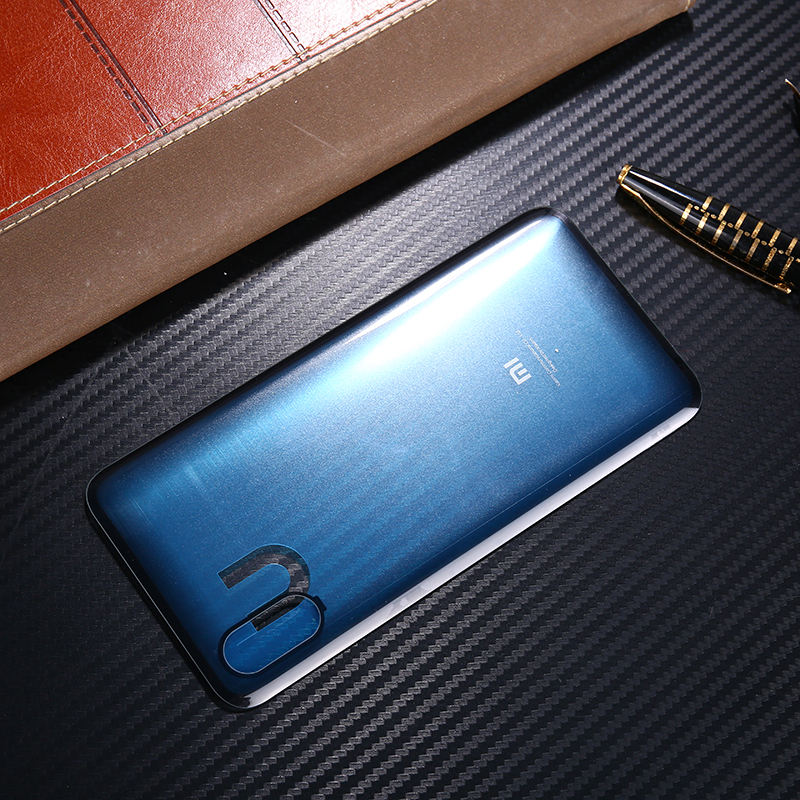 Mi8 Pro Original Housing For <font><b>Xiaomi</b></font> <font><b>Mi</b></font> <font><b>8</b></font> Pro / <font><b>Mi</b></font> <font><b>8</b></font> Explorer <font><b>Battery</b></font> Door Glass Back <font><b>Cover</b></font> Mobile Phone Replacement Parts Case image
