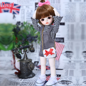 Image 4 - Napi Open eyed Karou BJD SD Doll 1/6 YoSD Body Model Baby Girls Boys Resin Toy High Quality Fashion Shop Luodoll Fixed teeth