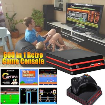 Game Console Classic Mini Arcade Retro Video Game MAME,GBA,SMD,SNES,NES Support SD Card HDMI And AV Input Wireless Controllers