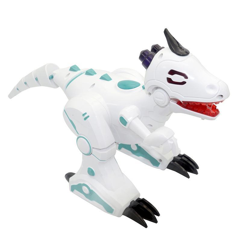 Nouveau Dinosaure animal Pet Marche avec chanson Clignotant Danse Lumière Électrique Robot Figurines Jouets Cadeaux De Noël pour les Enfants enfants