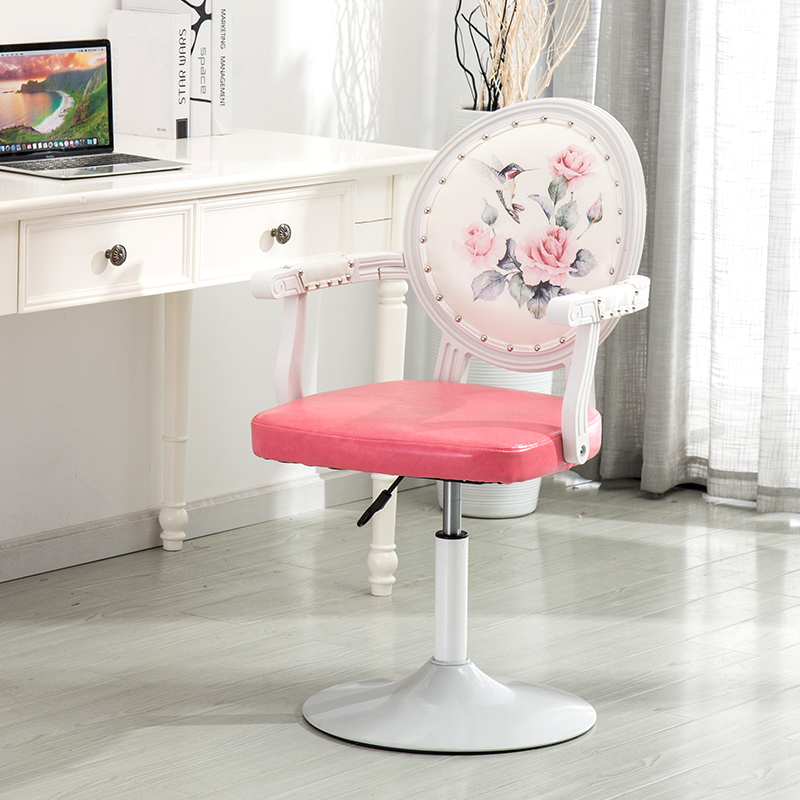 To Work In An Office Chair Staff Member Chair Meeting Chair Rise And Fall Make-up Chair Rotate Backrest Main Sowing Stool