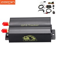 ZEEPIN TK103B GPS Tracker SMS/GPRS/GSM GPS Vehicle Tracker Locator With Remote Control Anti Theft Car Alarm System SD/SIM Card