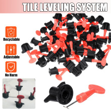New 50pcs/set level wedges tile spacers for Flooring Wall Tile carrelage Leveling System Leveler Locator Spacers Plier