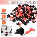Nuevo 50 unids/set nivel cuñas crucetas para piso de azulejo de pared muebles sistema de nivelación nivelador de separadores de Plier