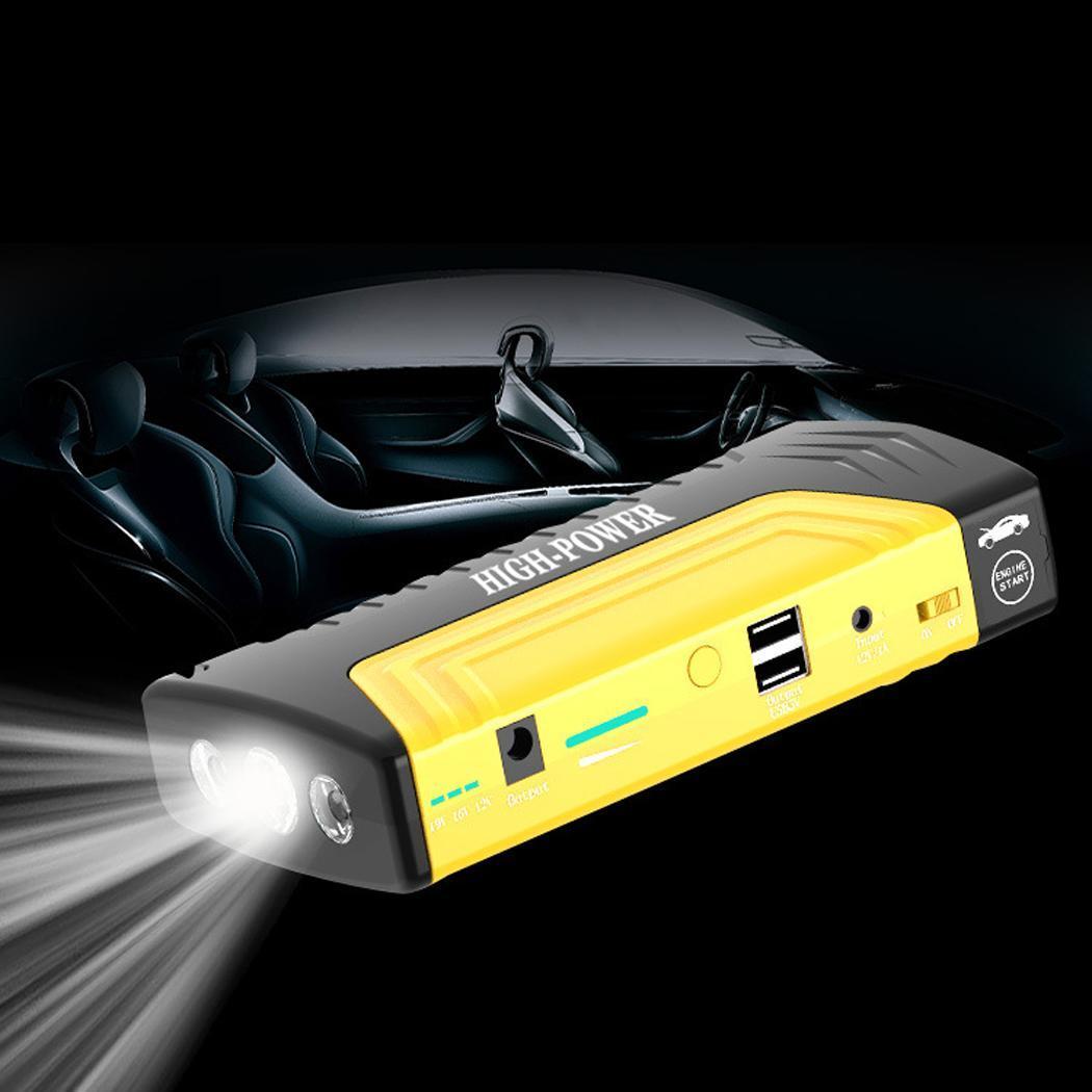 Chargeur de batterie de voiture Portable Booster dispositif de démarrage 12/16/19 (V) voiture 5 V/2A secours 12 v/16 v/19 v puissance de démarrage