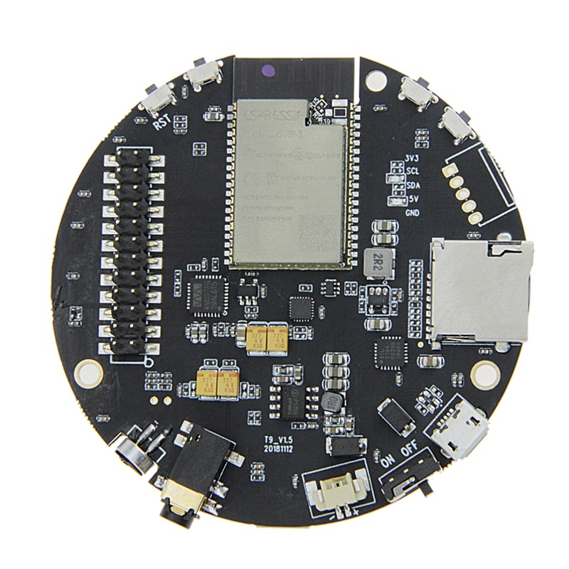 Ttgo Taudio V1.5 Esp32 Wrover Sd Card Slot Bluetooth Wi Fi Module Mpu9250 9 Axis Sensor Wm8978 12Bits Ws2812B-in Circuits from Consumer Electronics