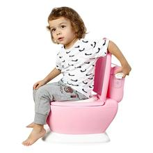 Детская имитация мини-туалета для младенцев пони ведро горшок сиденье портативный Туалет Обучение писсуар горшки эргономичный дизайн спинки