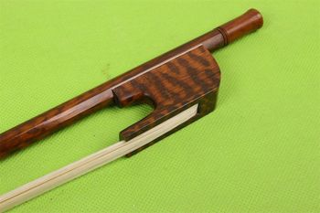 1pcs Double Bass Bow baroque Style nice Snakewood Straight balance #B29