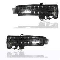 New LH+RH Side Turn Signal Mirror Assemble LED Indicator Lights For Mercedes Benz W164 ML300 ML350 GL350 GL450 GL550 2011 2015