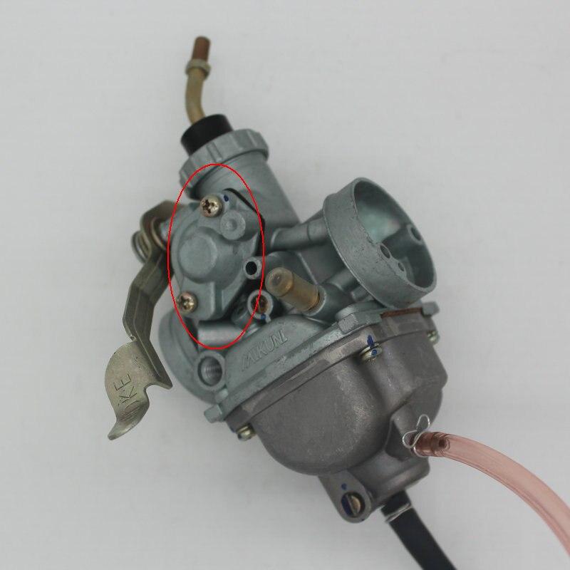 Carburateur de moto de cale de main pour YAMAha YBR125 XTZ125 XTZ125 YBR125 125CC MIKUNI pour deux typesCarburateur de moto de cale de main pour YAMAha YBR125 XTZ125 XTZ125 YBR125 125CC MIKUNI pour deux types