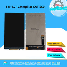 """M & sen para 4.7 """"caterpillar cat s50 display lcd de tela para caterpillar cat s50 display lcd"""