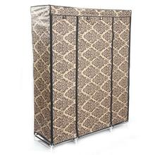 4-Layer 10 Lattices European-style Pattern Non-Woven Fabric Wardrobe