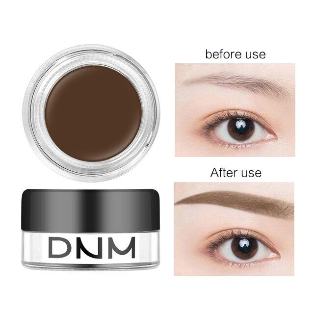 DNM tatuaje impermeable ceja pomada de larga duración a prueba de sudor ojos de Gel de cejas naturales maquillaje coreano Crema para cejas TSLM2