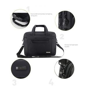 Image 4 - OYIXINGER 2020 avukat evrak çantası erkekler bilgisayar el çantaları lüks marka erkek iş çantası Oxford su geçirmez ofis çalışma için Maletas