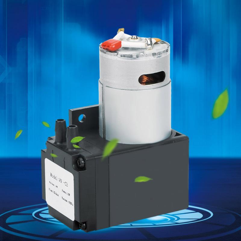 Heimwerker Sanitär Vorsichtig Dc24v 12 Watt Mini Pumpe Oilless Vakuumpumpe-80kpa Fluss 10 Lmin Für Gas Air High-performance Low Noise Mini Vakuum Pumpe