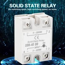 SSR-40 DD Relay 40A 5-220VDC Solid State Relay For Industrial Automation Process