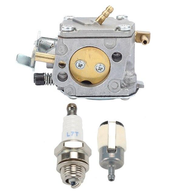 Carburetor Fuel Filter Spark Plug For Stihl 041 041AV Farm Boss Gas