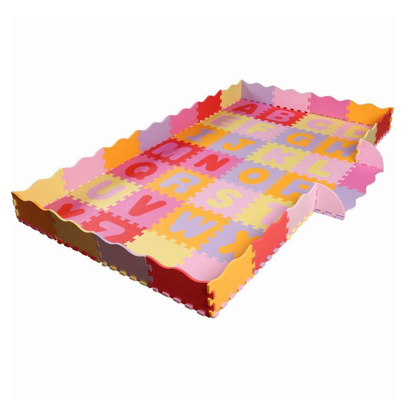 54 pièces tapis de motif Animal de bande dessinée EVA mousse Puzzle tapis enfants Puzzles de sol tapis de jeu pour enfants bébé jouer Gym ramper tapis