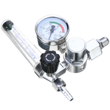 0-25Mpa Argon Regulator CO2 Mig Tig Flow Meter Gas Regulator Flowmeter Welding Weld Gauge Argon Regulator Pressure Reducer цена