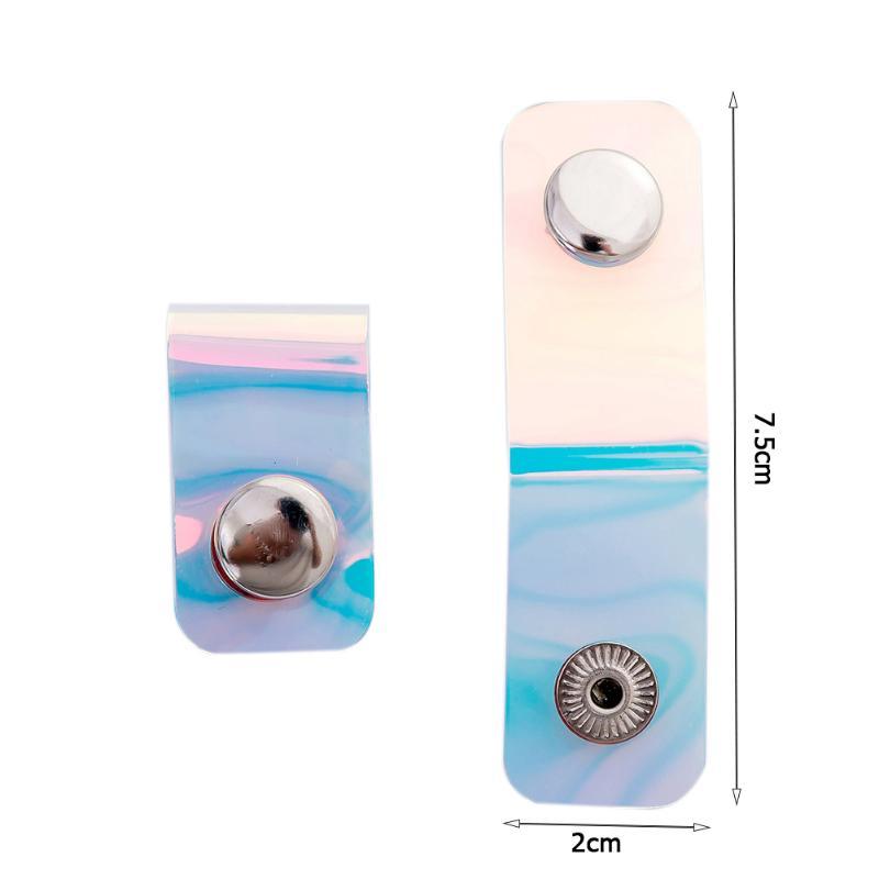 1 шт. Универсальная линия зажим для намотки ПВХ лазерная кнопка для наушников кабель для хранения Пряжка канцелярский Органайзер портативный стол для хранения