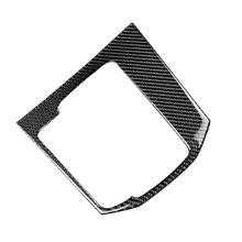 עבור מאזדה CX 5 CX 5 2017 2018 סיבי פחמן רכב Gear Shift פנל כיסוי רק LHD